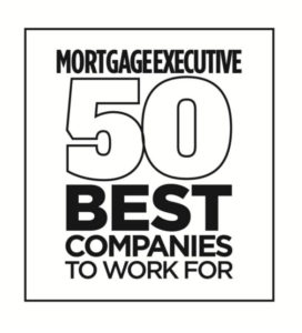Mortgage Executive 50 Best Companies to work for