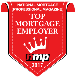 National Mortgage Professional Magazine Top Mortgage Employer for 2017