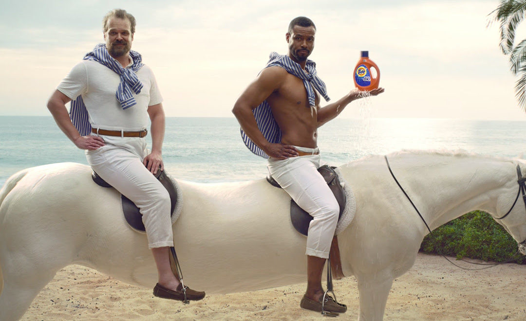 This is a TIDE ad