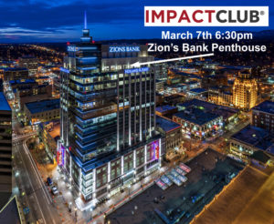 IMPACT CLUB meeting at Zion's Bank